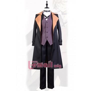 文豪ストレイドッグス  中原中也 ブラック 武装探偵社 コスチューム コスブレ衣装