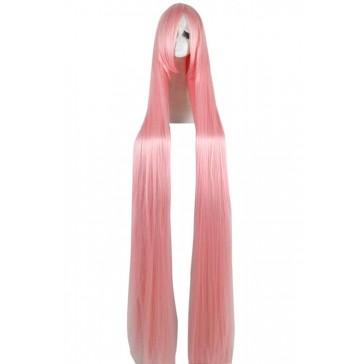 150cm  スーパーロング  ウィッグ  ピンク コスプレ   安い 通販