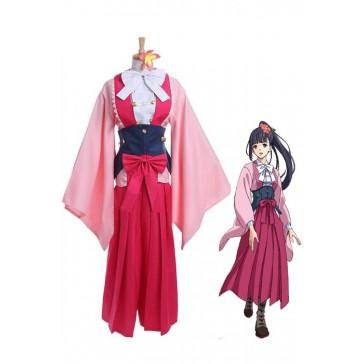 甲鉄城のカバネリ 四方川菖蒲 着物 女性コスチューム コスブレ衣装