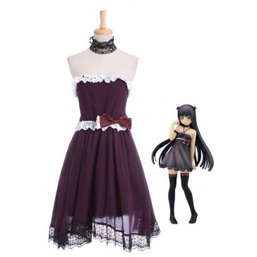 俺の妹がこんなに可愛いわけがない 五更瑠璃 黒猫 コスプレ衣装 メード コスチューム コスプレ 通販CC1307A