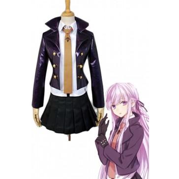 ダンガンロンパ  霧切響子  深紫色  スーツ  コスチューム  コスプレ衣装