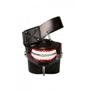 東京喰種 トーキョーグール 金木研 マスク 高品質 コスプレ 小道具 ブラック 安い 通販