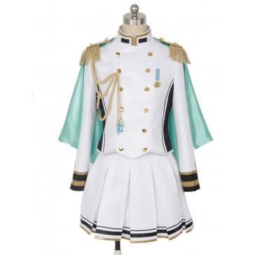 アイドルマスターシンデレラガールズ 相葉夕美  レディース コスプレ衣装 レッド コスチューム 安い 通販 仮装