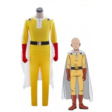 ワンパンマン One-Punch Man サイタマ 戦闘服 コスチューム コスプレ衣装