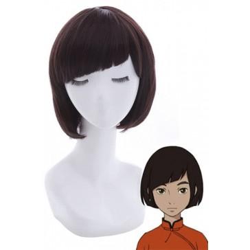 大魚と海棠  椿  中国の劇場版アニメ  短い黒髪  まっすぐな前髪  コスプレウィッグ