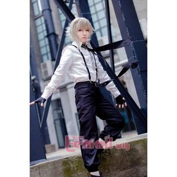 文豪ストライドッグス 中島 敦 白いシャツとブラックズボン コスブレ衣装