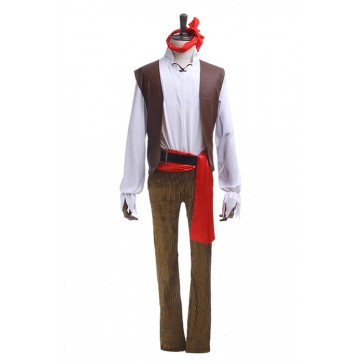 カリビアン海賊風 コスプレ衣装 コスチューム 高品質 ハロウィン衣装