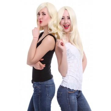 35cm ミディアム ベージュ ファッションウィッグ/人気 新品 FM01A