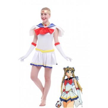 美少女戦士セーラームーン 月野うさぎ 二代目 変身 制服 プリーツスカート コスプレ 衣装 通販 激安 コスチューム アニメCC02A