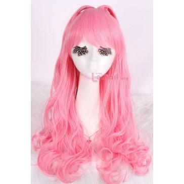 60cm ピンク 人気 コスプレウィッグ 女性用 新品 ZY39B