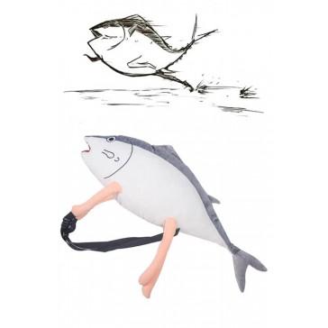 塩魚 魚 コスプレ道具 バッグ 面白い カバン