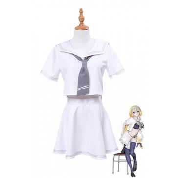 ジャンヌ・ダルク ホワイト 制服