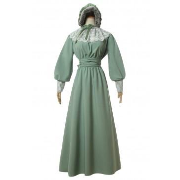 [森の少女] ドレス コスプレ衣装 欧米スタイル 女装 冬服 ワンピース 柔らかい 弾性高い 祭り変装 法国風 イベント用 撮影用 大きいサイズ