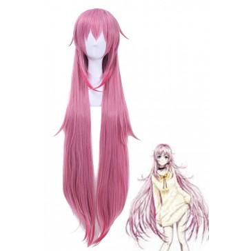 K 雨乃雅日 ネコ 薄いピンク ロング ストレート 100CMコスプレウィッグ 通販 高品質 かつら