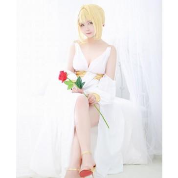 FATE Fate/Extra ネロ saber 白いスカート コスプレ衣装 コスチューム 安い 通販 仮装