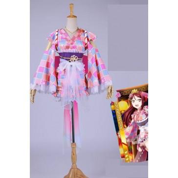 ラブライブ!サンシャイン 桜内梨子 夏祭り ゆかた コスプレ衣装 コスチューム 通販 仮装 CC2892H