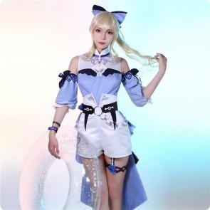 原神  ジン 水着 コスプレ衣装 ウィッグ追加可能 海風の夢 コスチューム Genshin impact  スキン イベント仮装 お買い得  通販