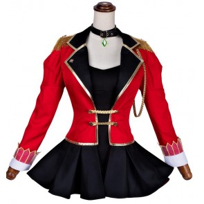 FATE FGO ネロ アイドル 赤い コスプレ衣装 コスチューム 安い 通販 仮装