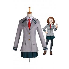 僕のヒーローアカデミア 麗日お茶子 学院 制服 コスプレ衣装 人気 コスチューム 安い 通販 仮装