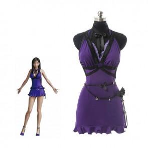 ファイナルファンタジー VII ティファ コスチューム イブニングドレス コスプレ衣装  イベンド仮装 全アクセサリー付き