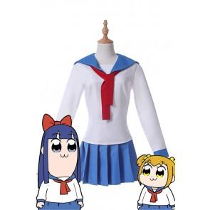 ポプテピピック ポプ子 ピピ美 擬人化 コスプレ衣装 人気 コスチューム セット 安い 通販 仮装