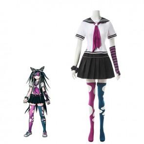 澪田唯吹 スーパーダンガンロンパ2 コスチューム コスプレ衣装  イベンド仮装 全アクセサリー付き