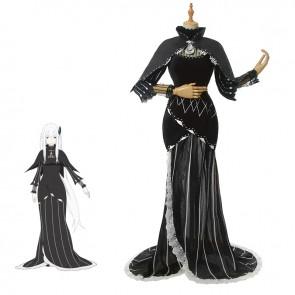 リゼロ 強欲の魔女 エキドナ コスチューム Re:ゼロから始める異世界生活 コスプレ衣装  イベンド仮装 全アクセサリー付き