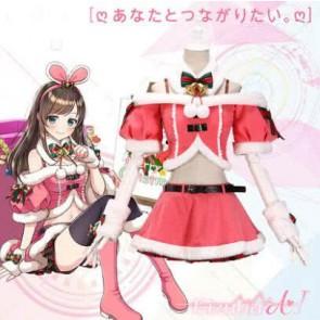 キズナアイ 絆愛 KizunAI クリスマス コスプレ コスプレ衣装 コスチューム 激安 通販 仮装