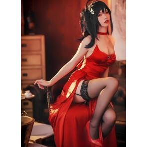アズールレーン 大鳳 礼服 赤い コスプレ コスプレ衣装 コスチューム 激安 通販 仮装
