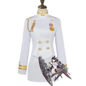 アズールレーン 愛宕 コスプレ 衣装 ホワイト コスプレ衣装 コスチューム 安い 通販 仮装