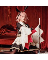 Fate/Grand Order アストルフォ・セイバー 最終再臨 コスプレ衣装  メイド コスプレ服  バニーガール コスチューム FGO 全アクセサリー