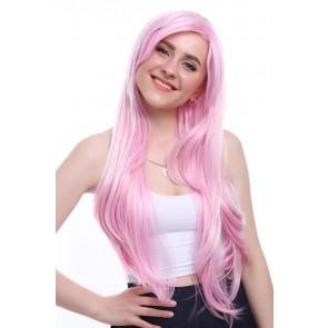 80cm ロング ピンク すーぱーそに子コスプレウィッグ かつら