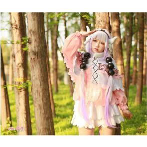 小林さんちのメイドラゴン  カンナカムイ  コスプレ衣装  ドレス ピンク 安い  通販
