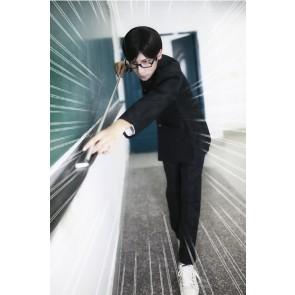 坂本ですが? 坂本 日本男子制服 ブラック コスチューム コスブレ衣装