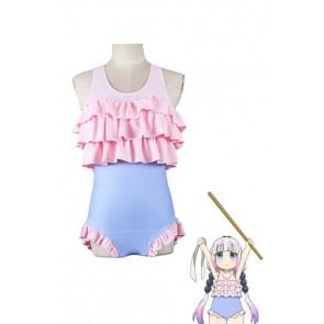 小林さんのメイドドラゴン カンナ ピンク 水着 コスプレ 衣装 通販 激安 コスチューム ア  ニメCC2982A