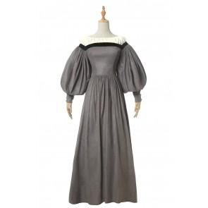 ドレス コスプレ衣装 優雅 欧米スタイル 女装 ワンピース 祭り変装 法国風 英国風 姫様洋服 イベント用 撮影用 スエード 大きいサイズ
