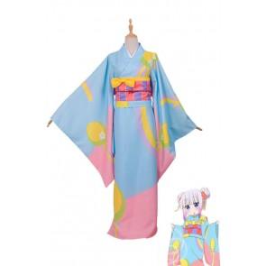 小林さんのメイドドラゴン カンナカムイ 和服 浴衣 コスプレ衣装 通販 激安 コスチューム アニメCC3046A