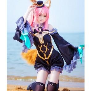 FATE Fate/Extra 玉藻の前 ブラック 魔術師 コスプレ衣装 コスチューム 安い 通販 仮装