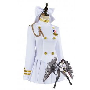 アズールレーン 高雄 コスプレ コスプレ衣装 ホワイト コスチューム 激安 通販 仮装
